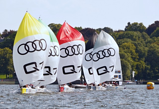 Segel Bundesliga, Berlin, 2015 - Photo © SailingAnarchy.de 2015