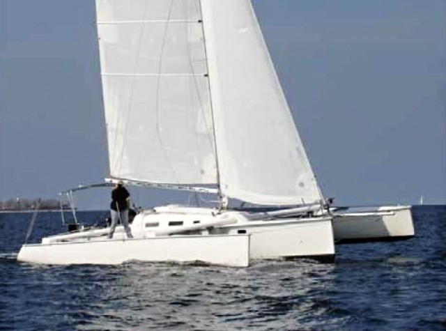 Contour 34 - Trimaran - Photo © Eigner