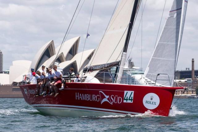 HASPA Hamburg - Rolex Sydney Hobart Yacht Race 2015 - Photo: HVS