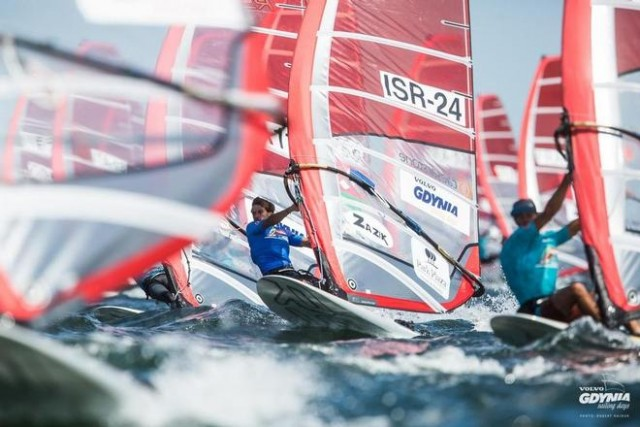 RSX Worlds D3 - 2015 World U-19 RS:X Champion Yoav Omer