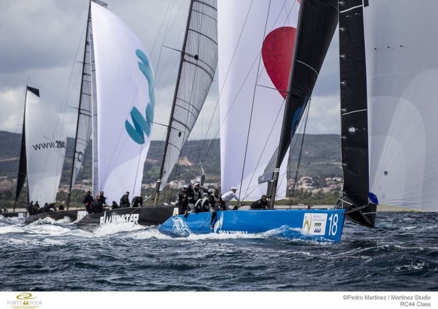 RC44 WC Sotogrande 2016 - Fleetracing - Photo ©Pedro Martinez / RC44 Class