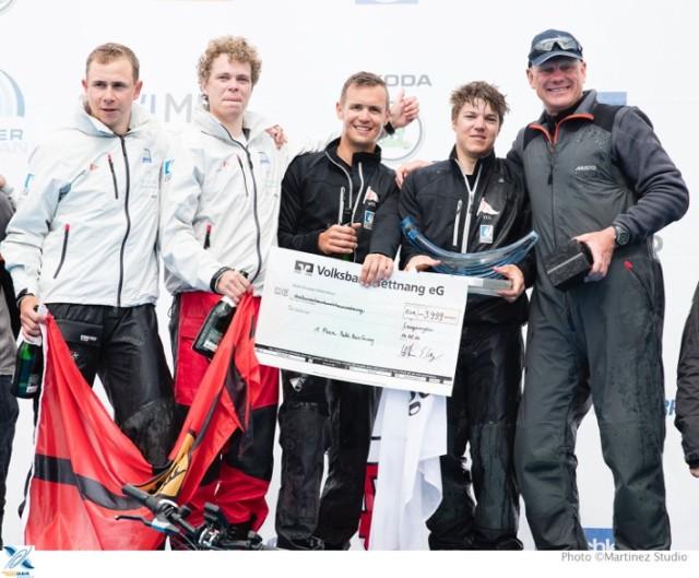 Karol Jablonski und Crew - Sieger MRG 2016 - Photo Copyright Nico Martinez/MRG