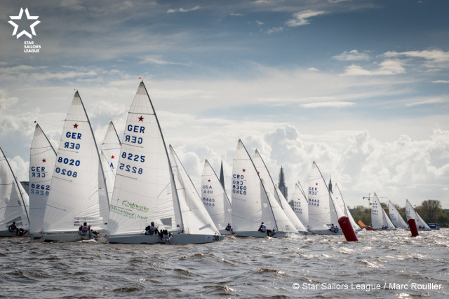 Start - Day 1 - Photo © Star Sailors League / Marc Rouiller