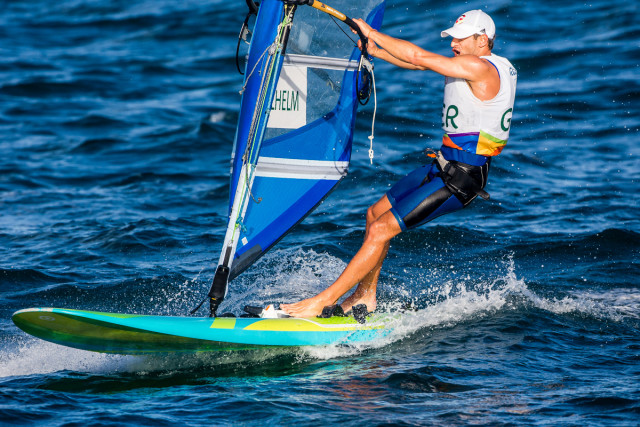 Rio 2016 - RS:X - Toni Wilhelm - Photo © Sailing Energy