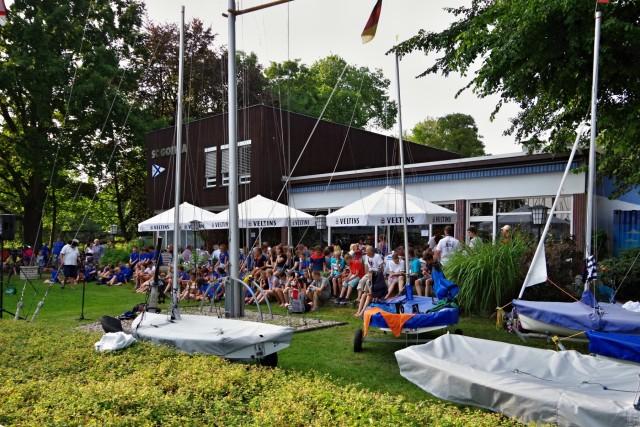 IDJüM 2016 im Teeny im Segler-Club Gothia e.V. in Berlin, 24.07.2016 - Eröffnung der Meisterschaft