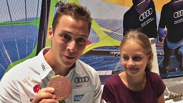 Thomas Plößel und Jasmin Lang im Interview zur Bronzemedaille Rio und Segeln in Teeny - Photo © SailingAnarchy.de