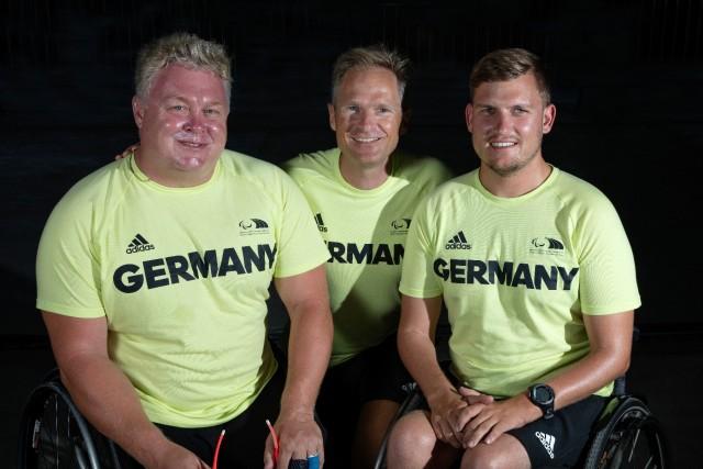 Paralympische Spiele Rio 2016 -Siegmund Mainka/Jens Kroker/Lasse Klötzing, Sonar © Richard Langdon/Ocean Images