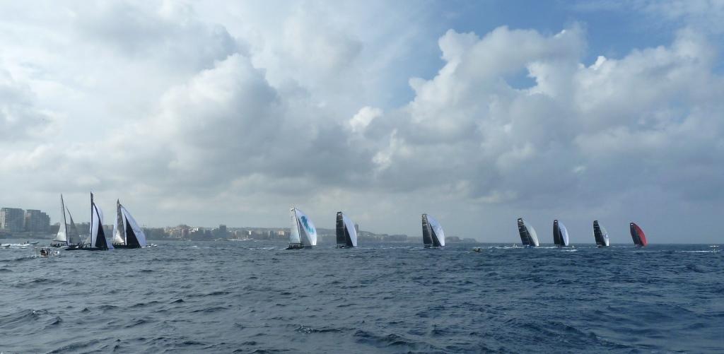 Eine Prozession im katholischen Malta: RC44 Fleet Racing