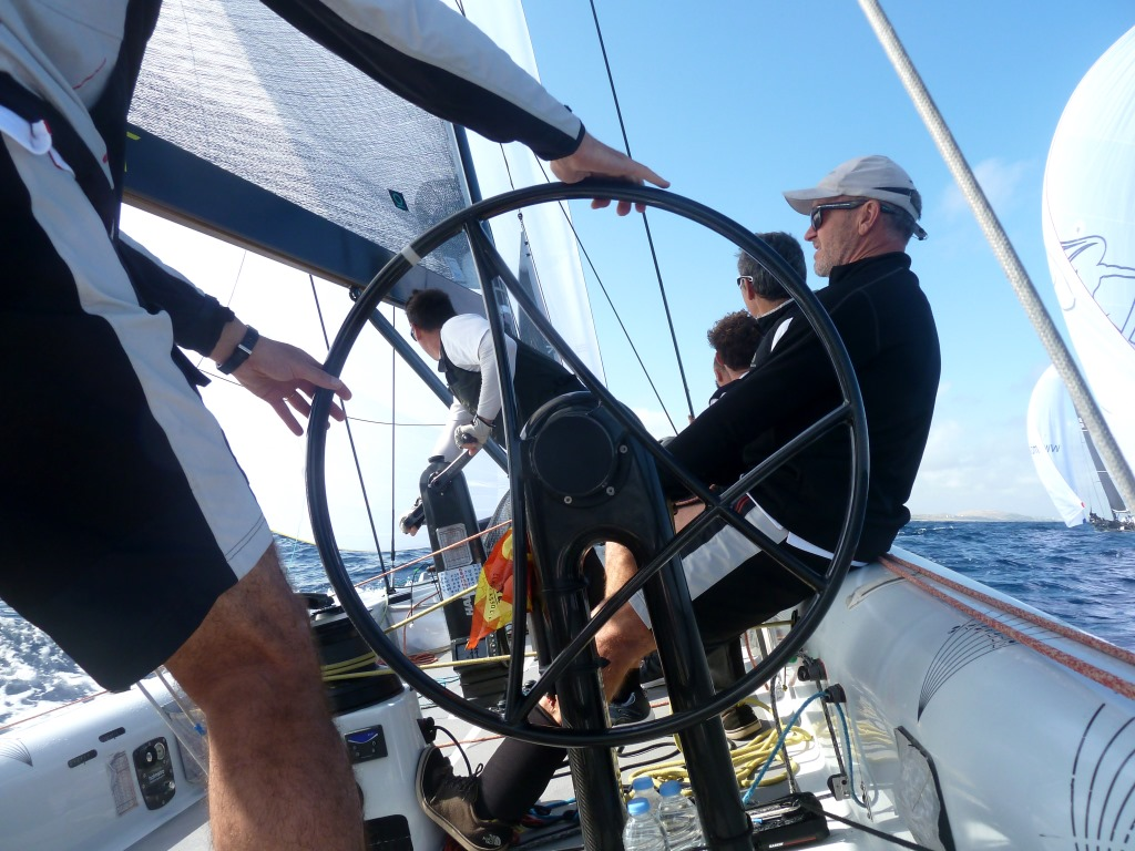 Action an Bord von Aleph