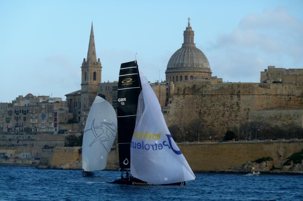 Die schöne Stadt im Hintergrund: Valletta zeigt sich tourismusgerecht