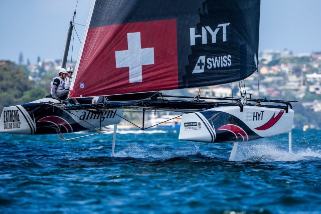 Alinghi vor Sydney im Finale der Extreme Sailing Series 2016 - Photo © ESS