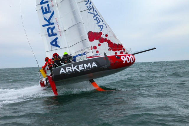 Classe Mini Prototype Arkema 3 - Photo Copyright: Maxence Peyras / Team Arkema Lalou Multi