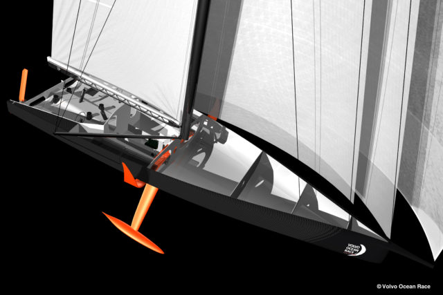 Volvo Ocean Race 2020 - 60 Fuß Monohull mit Wings und Kippkiel - Photo © Volvo Ocean Race