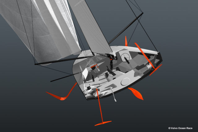 Offshore 60 foot (18.29m) foil-assisted monohull - Photo © Volvo Ocean Race