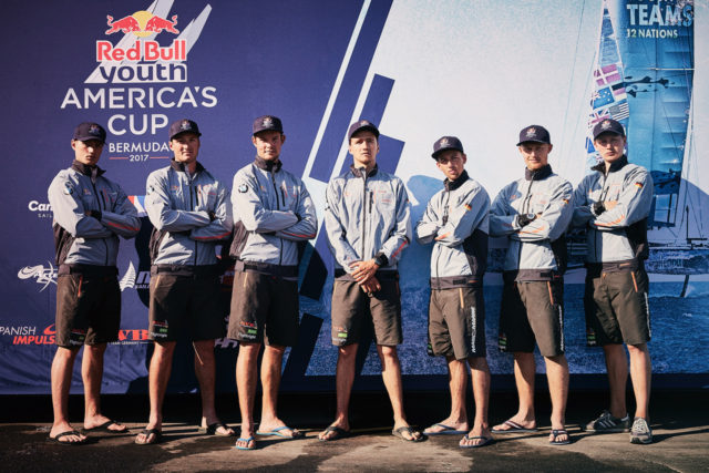 SVB Team Germany - Red Bull Youth America's Cup 2017 - Photo credit: Felix Diemer / SVB Team Germany