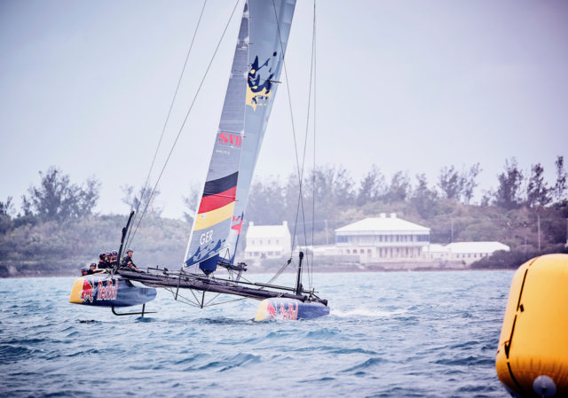 SVB Team Germany beim Training vor Hamiliton, Bermuda für den Red Bull Youth America's Cup 2017 - Photo credit: Felix Diemer / SVB Team Germany