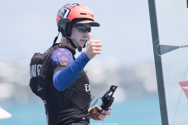 17/06/2017 - Bermuda (BDA) - 35th America's Cup 2017 - 35th America's Cup Match Presented by Louis Vuitton, Race day 1 - Peter Burling, ETNZ