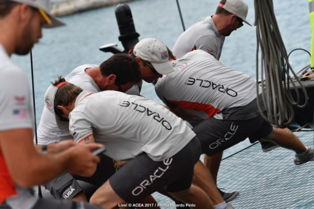 24/06/2017 - Bermuda (BDA) - 35th America's Cup 2017 - 35th America's Cup Match Presented by Louis Vuitton - Oracle Team USA - © ACEA 2017 / Photo Ricardo Pint