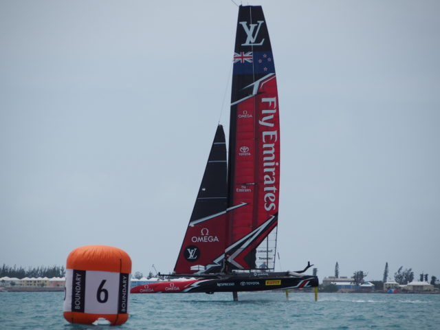 ETNZ - 35th Americas Cup auf Bermuda, Mai 2017, Round Robin 1 - Louis Vuitton Cup - Photo © Anarchist Alex