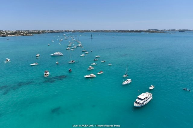04/06/2017 - Bermuda (BDA) - 35th America's Cup 2017 - Louis Vuitton America's Cup Challenger Playoffs Semifinals, Day 1 - © ACEA 2017 / Photo Ricardo Pinto