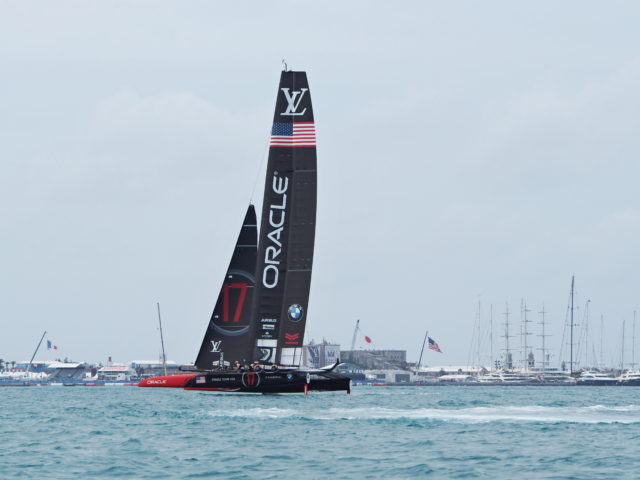 ORACLE Team USA - 35th Americas Cup auf Bermuda, Mai 2017, Round Robin 1 - Louis Vuitton Cup - Photo © Anarchist Alex