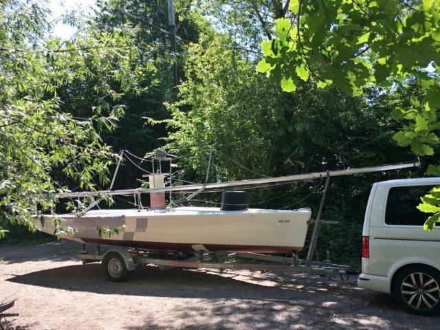 Streamline - Sportboot + Straßentrailer - Photo © Eigener