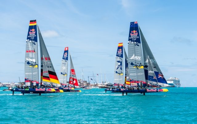 21/06/2017 - Bermuda (BDA) - 35th America's Cup Bermuda 2017 - Red Bull Youth America´s Cup Finals Day 2 - Photo © ACEA 2017 / Richardo Pinto