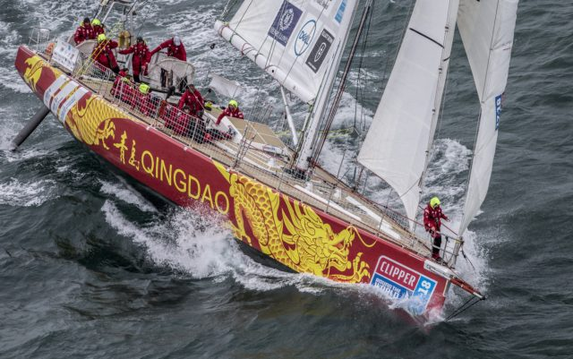 The Clipper Round the World Race 2017-2017 - QINGDAO - Copyright onEdition 2017