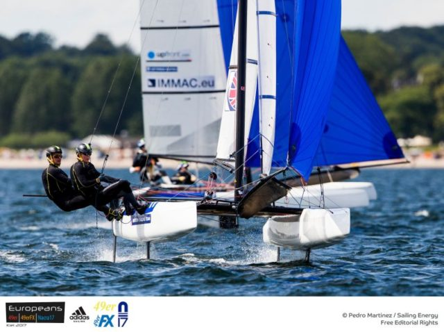 Narca 17 Europameisterschaft 2017 Kiel - Photo © Pedro Martinez / Sailing Energy