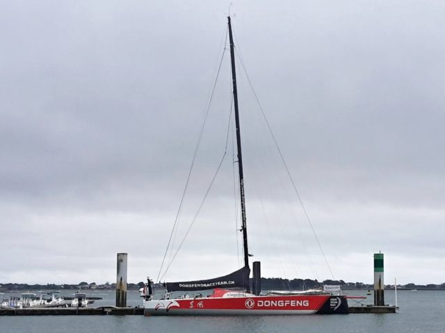 VO65 DONGFENG in Lorient 2017- Photo © Gerald G.