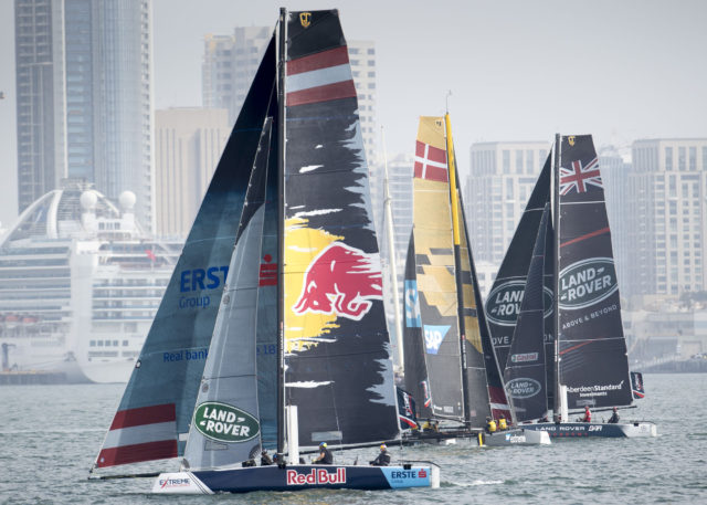 The Extreme Sailing Series 2017. Act 8. 19th - 22nd October 2017. San Diego, California, USA - Photo © Lloyd Images