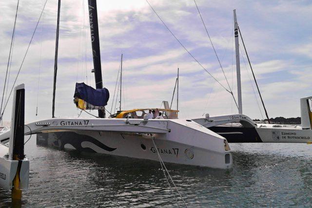 Lorient – Edmond de Rothschild – Gitana 17 – Photo © S. Rausch