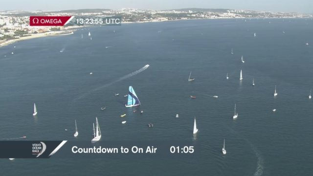 VOR 2017/18 - Vestas 11th Hour Racing - Zielline in Sicht - Screenshot © VOR Website