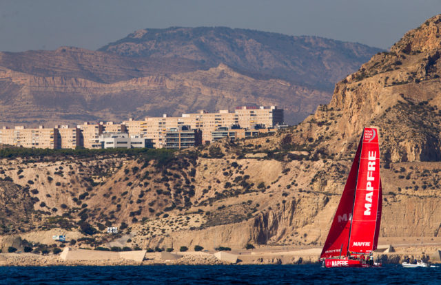 Alicante Stopover. Practice Race. Photo by Pedro Martinez/Volvo Ocean Race. 13 October Pedro Martinez/Volvo Ocean Race