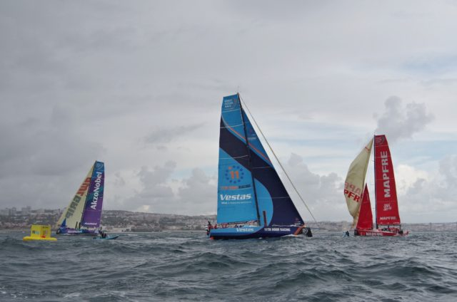 VOR Lissabon -Inport Race - Luvtonne - Photo © SailingAnarchy.de