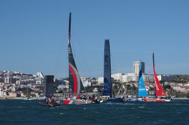 VOR - Start Leg 2 - Vorstart - Photo © SailingAnarchy.de 2017