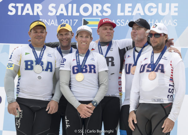 SSL Finals - Podium - Paul Goodison GBR und Frithjof Kleen GER - Sieger der 5. SSL FINALS in Nassau Bahamas vor Robert Scheid und Heny Boening BRA und Mark Mendelblatt und Brian Fatih USA - Photo © SSL Carlo Borlenghi