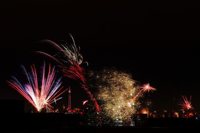 Neujahrsfeuerwerk über Berlin - Photo © SailingAnarchy.de 2018