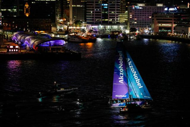 Volvo Ocean Race - Leg 6 to Auckland- AkzoNobel kreuzt als Sieger die Ziellinie - 27 February, 2018 - Photo © Ainhoa Sanchez/Volvo Ocean Race