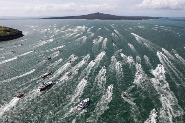Leg 7, Auckland to Itajai, start day. 18 March, 2018 - Photo © Ainhoa Sanchez / Volvo Ocean Race