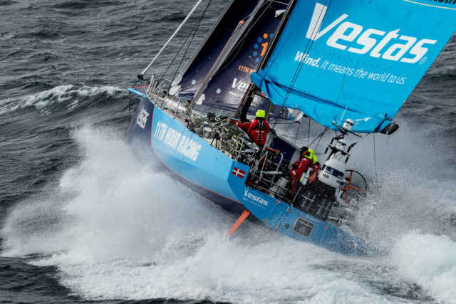 Volvo Ocean Race 2018 - Leg 7, Vestas 11th Hour Racing passiert Kap Hoorn, 29. März 2018 - Photo © Ainhoa Sanchez/Volvo Ocean Race