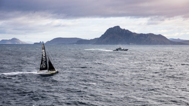 VOR - Leg 7 from Auckland to Itajai. Cape Horn. 29 March, 2018 - Team BRUNEL - Photo © Ainhoa Sanchez / Volvo Ocean Race