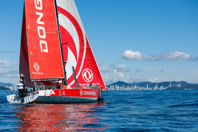 VOR - Leg 7 - DONGFENG Race Team - Zielankunft in Itajai, 03.04.2018 - Photo © Ainhoa Sanchez / Volvo Ocean Race