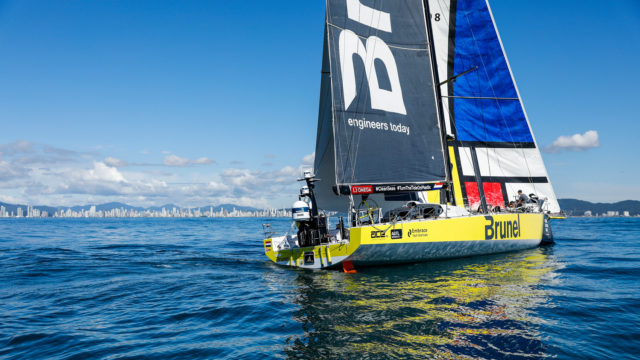 VOR - Leg 7 - Team BRUNEL - Zielankunft in Itajai, 03.04.2018 - Photo © Ainhoa Sanchez / Volvo Ocean Race