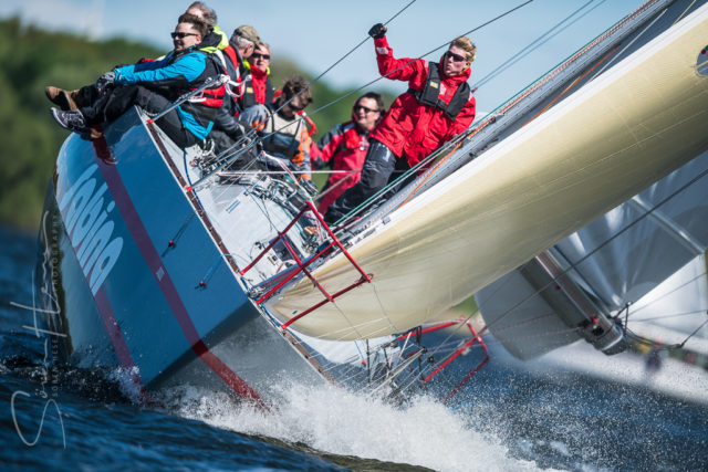 Round the Island Spring 2018 – 1. Mai bei Briten – Sabina - Photo © Sören Hese / www.sailpower.de