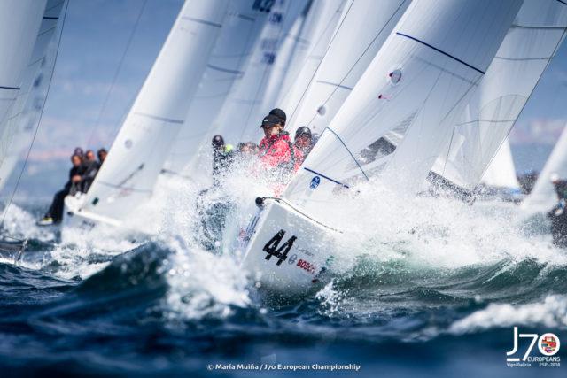 J70 Europameisterschaft Vigo 2018 - Photo © Maria Muina I J70 European Championship