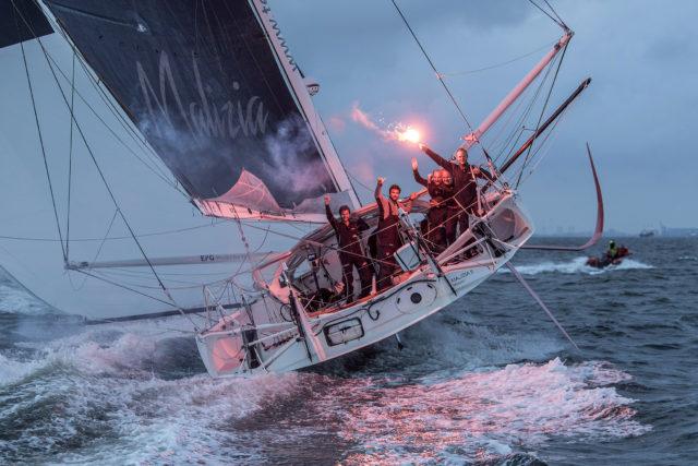 Malizia Yacht Club de Monaco - Erste im Ziel - AAR - Photo © Andreas Lindlahr