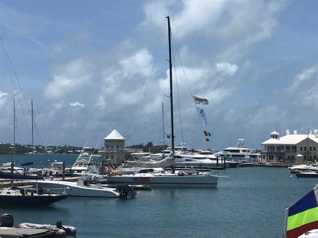 Bank von Bremen - Blick vom Clubhaus des Royal Bermuda Yacht Club - Photo © SKWB