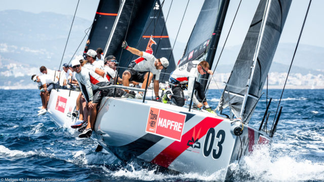 Copa del Rey MAPFRE 2018 - Melges 40 - Photo © Melges40 / Barracuda communication