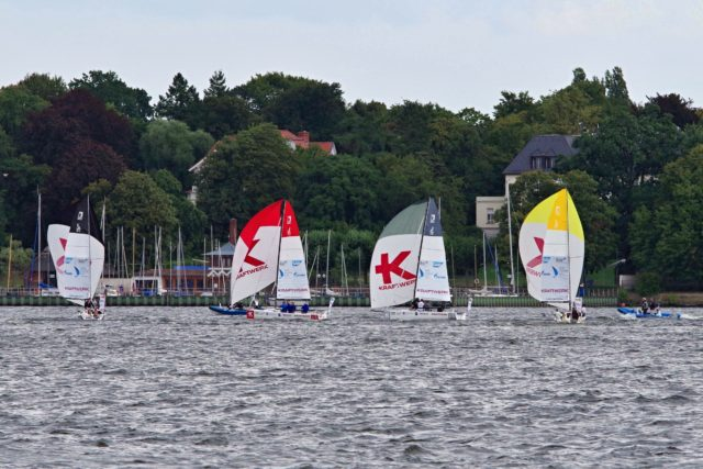 Segel-Bundesliga - Berlin, Samstag, 25.08.2018 - Photo © SailingAnarchy.de